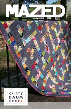 MAZED - Quilt Pattern. $9.00, via Etsy.  ~new pattern that I need, I mean want. :)