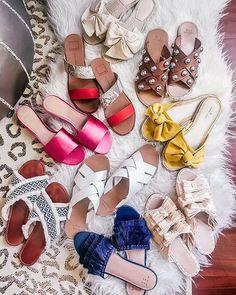 Slippers and sliders women's flat footwear – Just Trendy Girls: http://www.justtrendygirls.com/slippers-and-sliders-womens-flat-footwear/