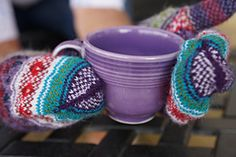 Doja's gift fair isle mittens knitting pattern Knitting Charts, Knitting Patterns, Mittens Pattern, Color Combinations, My Favorite Things, Gifts, Color Combos, Knit Patterns, Presents