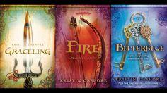 Graceling series by Kristin Cashore