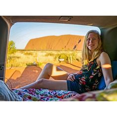 The Northern Territory's Red Centre Way is a drive through an unforgettable landscape. Explore Uluru Kings Canyon the West MacDonnell Ranges and Alice Springs. Thanks and safe travels to @travelflash who took this super-chill road trip pic! #roadtrip #Uluru #UluruKataTjuta #nationalparks #Australia #