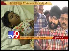Jr NTR fulfills cancer patient's wish, meets her at hospital