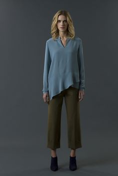 shirt haidee pant mable FW 15-16 collection by QL2 www.quelle2.it #fashion, #women, #apparel