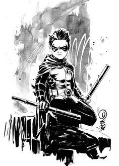 Damian Wayne the boy badass.