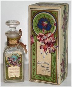1908-1922 one ounce bottle with box