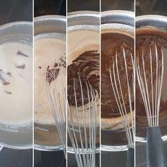 Eine feine Creme zum Füllen und Einstreichen einer Torte Rezept für Ganache    Ganache ist nicht nur extrem lecker, sondern auch schnell und ganz einfach zu machen. Sie besteht nur aus zwei Komponenten: Sahne und Schokolade (oder Kuvertüre).…