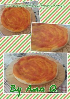 Cocinando en Ibiza: Bases de pizza (Monsieur Cuisine - Horno)