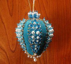 vintage bead & sequin ornaments
