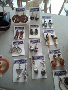 Earrings by Janis Long of Doylestown, PA
