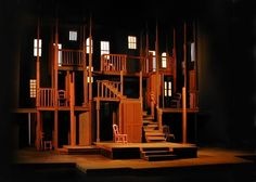 The Haunting of Winchester. San Jose Repertory Theatre. William Bloodgood, Scenic design. 2005