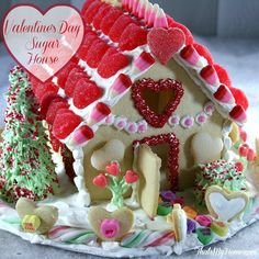 Valentine's Day Sugar House from That's My Home.com
