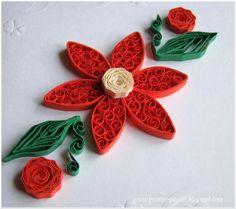 kiddo's blog: Beehive quilling flower