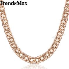 Chain Necklaces Romad Clavicular Chain Rose Gold Flower Charm Necklace Pendant Women Choker Boho Jewelry Collier Friend Statement Necklaces R4