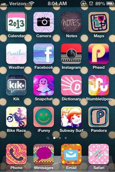 Make your iphone pretty. App COCOPPA