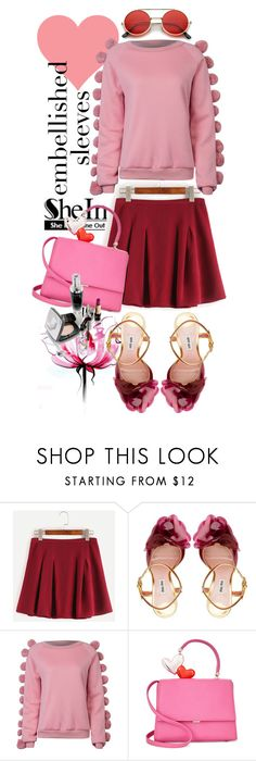 """""""Love Me Tender"""" by cinderella-slipper ❤ liked on Polyvore featuring Lancôme, Miu Miu, WithChic and ZeroUV"""