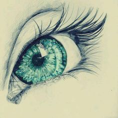 Afbeelding via We Heart It https://weheartit.com/entry/143654656 #art #cool #draw #drawing #eye #green #love #perfect #sketch #drawingeye #realeye