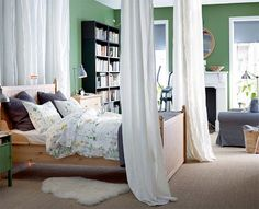 green IKEA bedroom design for 2015