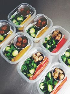 ketchup-infused meatballs, lemon chicken meatballs, brussel sprouts, bell peppers —paleo, gluten free