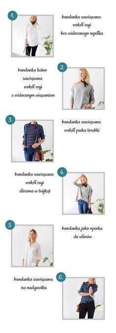 Bandana, sposoby na bandanę. Dodatki. Fashion accessories.