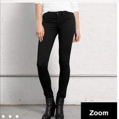 NWOT black rag&bone skinny jeans Never worn black stretchy skinnies from rag&bone. Super cool. Price is firm as this is an amazing deal rag & bone Pants