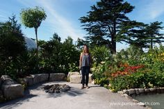 Jennifer Jones, pictured in the Journey Latin America's Inca Garden that she…