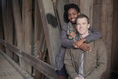 What a beautiful couple!  Openview Cinema does engagement shoots!
