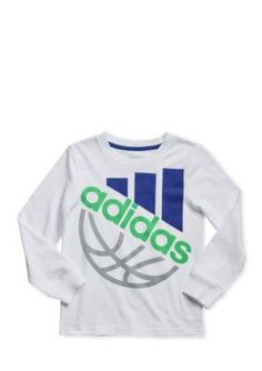 adidas  Logo Sports Ball Tee Toddler Boys