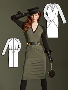 Read the article 'Major Style: 8 Military Chic Sewing Patterns' in the BurdaStyle blog 'Daily Thread'.