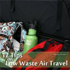 Condo Blues: 12 Tips for Low Waste Air Travel