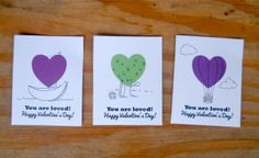 we wilsons: Print and Draw Valentines