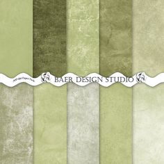 """Masculine digital paper with distressed backgrounds, watercolor textures, canvas patterns and grunge textured patterns all  in shades of green. These papers work well for creating Fathers Day cards, graduations, bachelor parties, scrapbook layouts, paper decor and journal stickers.  Hit """"visit"""" for more information."""