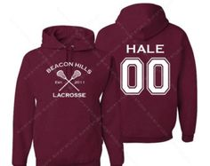 10% off TOP RATED Teen Wolf Beacon Hills Lacrosse Hoodie - Hale 00