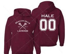 10% off TOP RATED Teen Wolf Beacon Hills Lacrosse Hoodie - Hale 00