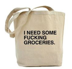 :: DESIGN :: QUOTE :: never go grocery shopping hangry, but if you do, definitely bring this shopping bag #design #quotes