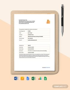 FREE Sample Quotation Template - PDF | Word (DOC) | Excel | Apple (MAC) Pages | Apple Numbers | Template.net Quotation Sample, Quotation Format, Sales Quotes, Download Free Movies Online, Docs Templates, Service Quotes, Sign Company, Price Quote, Word Doc