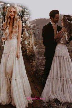 White Beach Wedding Dresses, Cheap Lace Wedding Dresses, Prom Dresses Long With Sleeves, Wedding Dress Chiffon, Wedding Dress Sleeves, Wedding Dresses Plus Size, Perfect Wedding Dress, Ivory Wedding, Custom Made Prom Dress