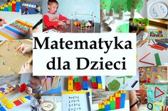 Wspieranie edukacji matematycznej dzieci Montessori Math, Preschool Math, Math Activities, Math For Kids, Asd, Cool Kids, Parenting, Teacher, Invitations