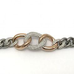 Resultado de imagem para bound leather bracelet swarovski