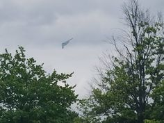 Took a pic of the B-2 over Sterling. Flew super low.