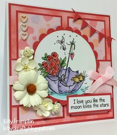 Made for Quick Cards Made Easy Magazine using Moonbeam Meadow Stamps.