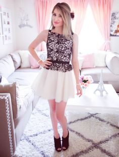The Perfect Combination In A Feminine Dress | J'adore Lexie Couture