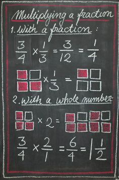 Fractions, Waldorf 4th Grade | Flickr - Photo Sharing! #math #fractions