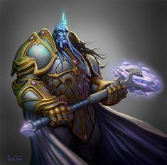 ArtStation - World of Warcraft: Burning Crusade, Glenn Rane World Of Warcraft Game, World Of Warcraft Characters, Warcraft Art, Fantasy Characters, Novel Characters, Wow Draenei, Tiefling Paladin, World Of Warcraft Wallpaper, Blizzard Warcraft