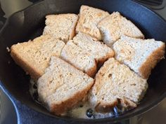 スキレット簡単レシピ メチャおいしい人気のフレンチトースト | Gokigen Life blog