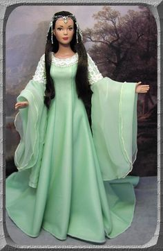 Arwen Coronation Gown - made for Tyler Wentworth doll