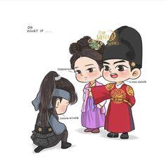 Moon Lovers, Lovers Art, Korean Art, Korean Drama, Cartoon Art, Cartoon Characters, Dramas, Drama Korea, Drama Movies