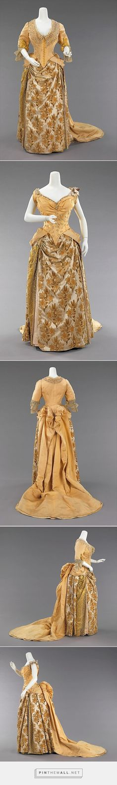 Evening ensemble by House of Worth ca. 1888 French | The Metropolitan Museum of Art