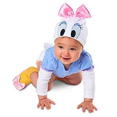 Daisy Duck Bodysuit Costume Collection for Baby | Disney Store Daisy's Bodysuit Costume Collection for Baby pairs our ducky diva's cuddly Costume Bodysuit with matching Costume Shoes for a quacking-good combo!
