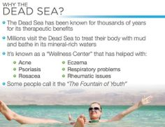 Have you seen the amazing benefits of this fantastic skin regime. Join us now. Interview Coaching, Dead Sea Minerals, Dead Sea Salt, Eczema Psoriasis, Color Psychology, Wellness Center, Resume Writing, Dream Vacations, How To Become