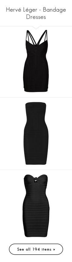 """Hervé Léger - Bandage Dresses"" by giovanna1995 ❤ liked on Polyvore featuring dress, rainbow, herveleger, bodycon, bandage, dresses, herve leger, black, bodycon cocktail dress and hervé léger"